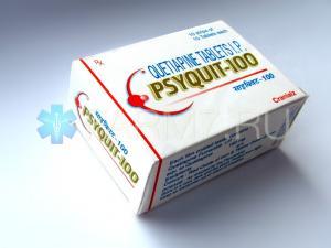Кветиапин (Quetiapine) 100 мг - PSYQUIT-100 - Сероквель аналоги