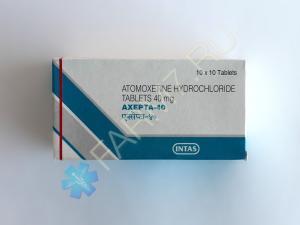 Атомоксетин 40 мг купить (AXEPTA-40)