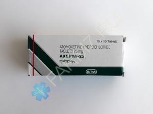 Атомоксетин 25 мг купить (AXEPTA-25)
