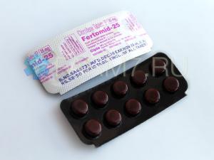 Кломифен 25 мг купить
