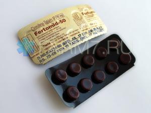 Кломифен 50 мг купить (Fertomid-50)