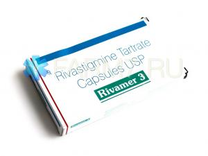 Ривастигмин 3 мг купить - RIVAMER 3