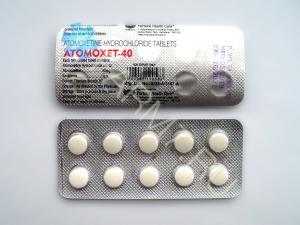 Купить Атомоксетин 40 мг (ATOMOXET-40)